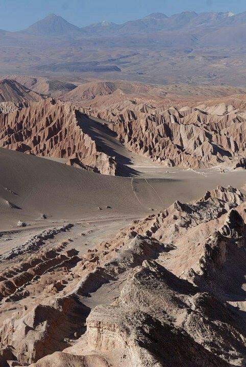 Cile, Valli della Luna, Deserto di Atacama