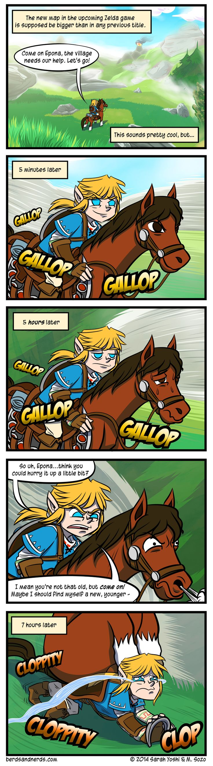 Horse Power | #Zelda #WiiU #2015 Please not a total repeat of WW sailing. My poor heart couldn't take it.