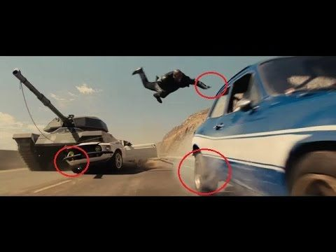 Fast and Furious 6 MISTAKES - YouTube