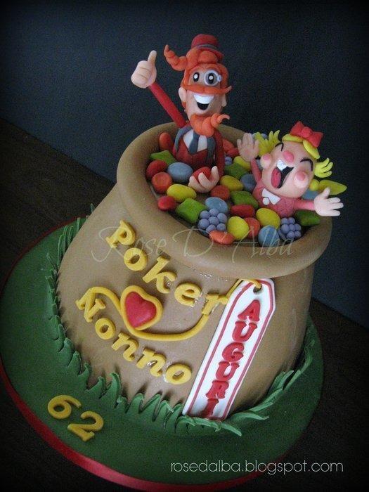 Candy Crash Saga cake - Cake by Rose D' Alba cake designer