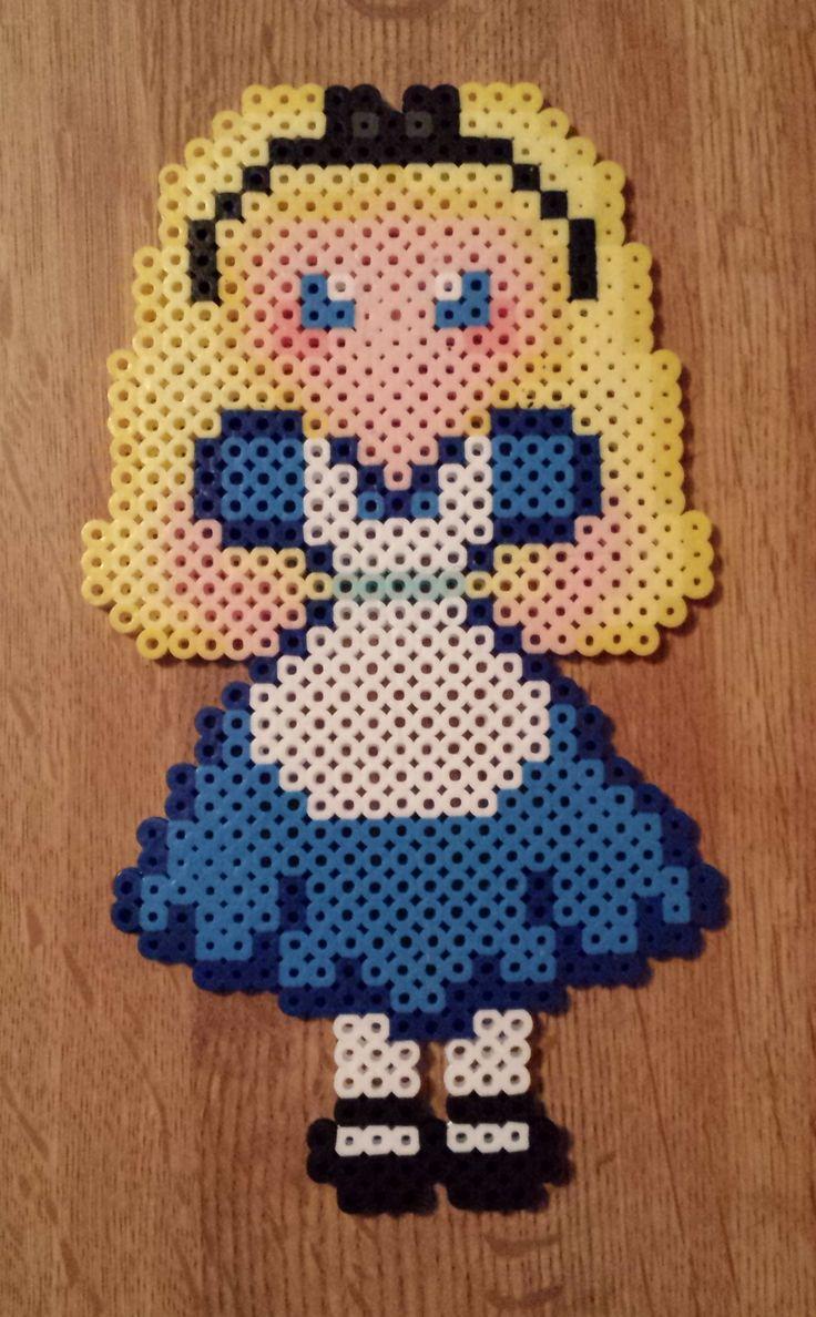 Perler Alice in Wonderland - Alice
