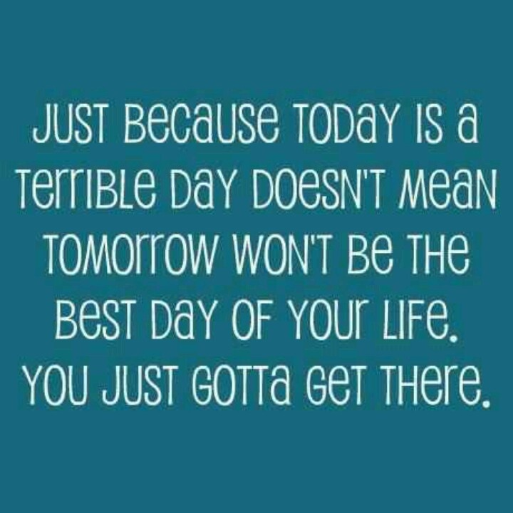 Tomorrow Is A New Day Inspirational Things Quotes Words Sayings