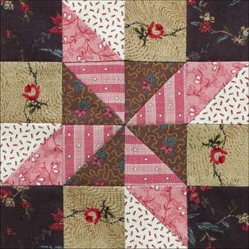 Civil War Quilts: 35 Star of the West--many block patterns and tutorials and stories; great site