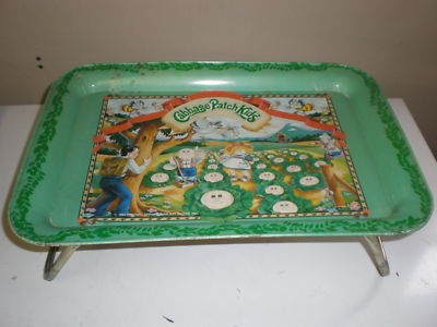 1983 Cabbage Patch Kids Tv Tray, Dinner Tray