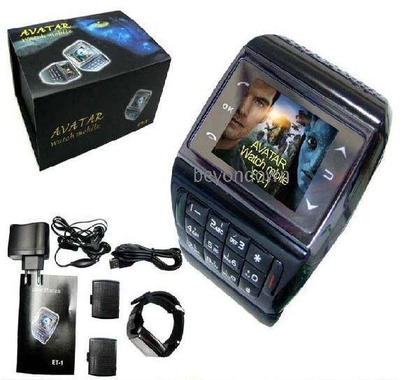 Reloj Celular con pantalla touch screen, MP3/MP4, radio FM, bluetooth, alarma y muchas más funciones. Libre para utilizar en cualquier operadora. Precio de oferta $150.