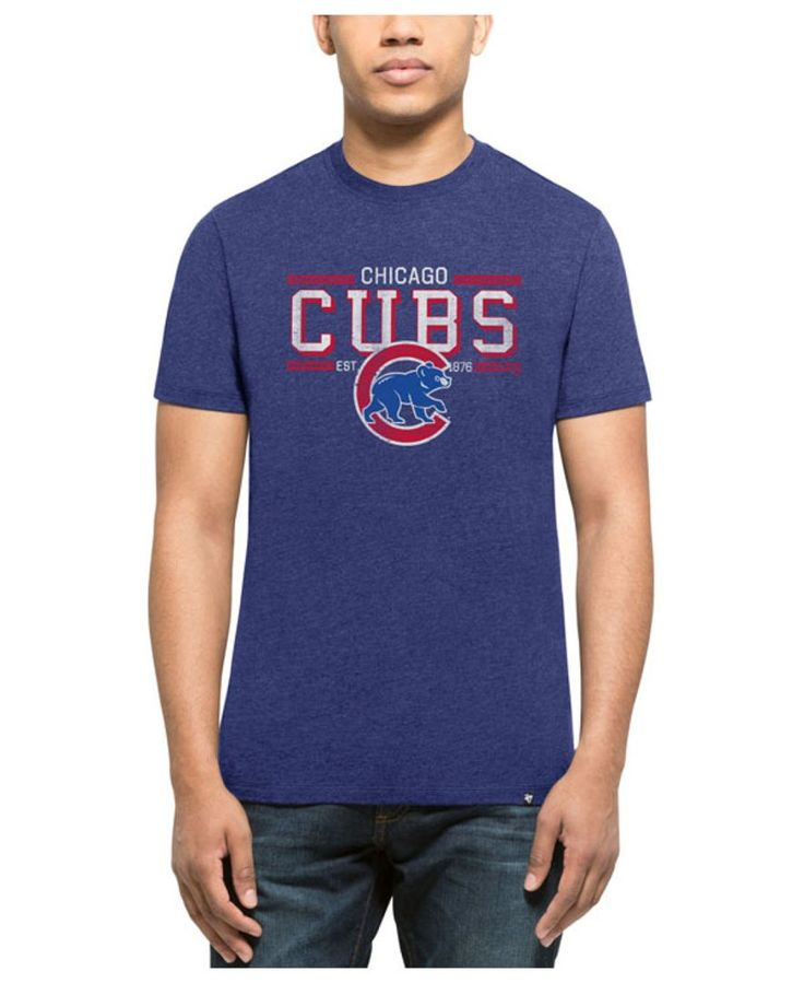 '47 Brand Men's Chicago Cubs Club Lineup T-Shirt