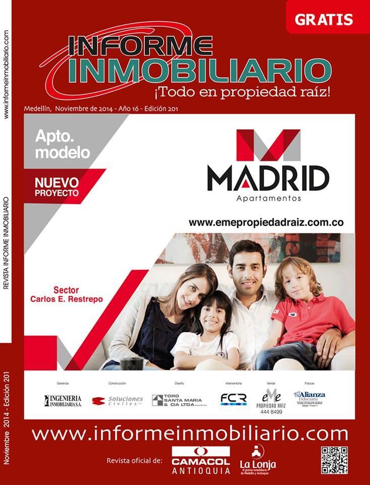 Revista Informe Inmobiliario, edición #201 del mes de NOVIEMBRE.