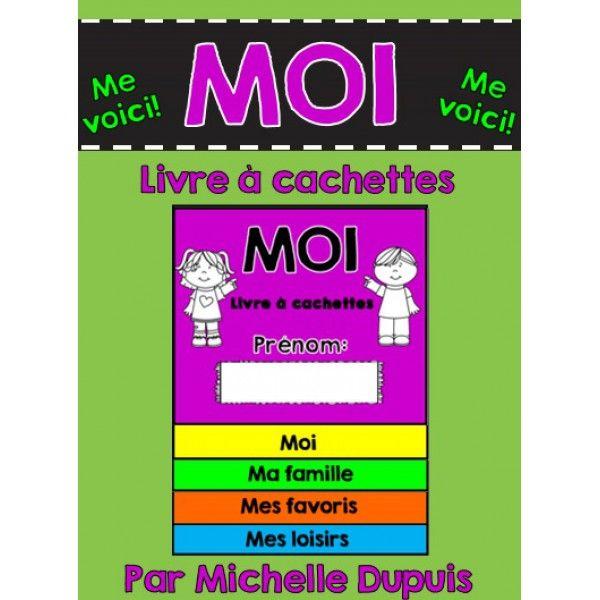 Moi - Me Voilà (Livre à cachettes)