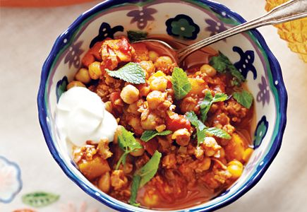 Meatless Moroccan Soup