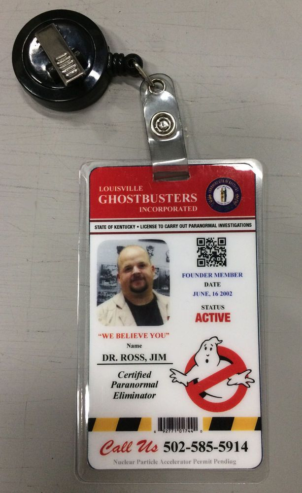Ghostbusters costume prop customized name badge | Clothing, Shoes & Accessories, Costumes, Reenactment, Theater, Costumes | eBay!