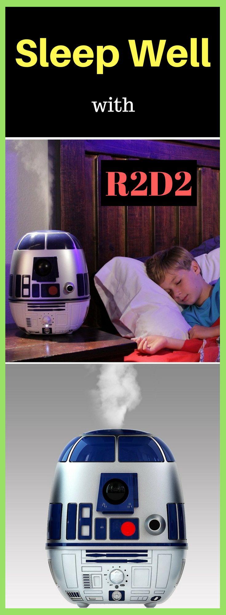 Star Wars R2D2 Ultrasonic Cool-Mist Humidifier #starwars #r2d2 #humidifier #sleep @ https://starwargift.com/product/star-wars-r2d2-ultrasonic-cool-mist-humidifier/