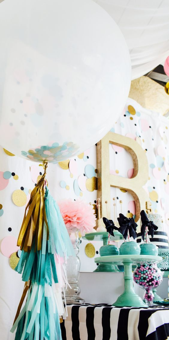 36 Ideas de decoración para el lindo globo Baby Showers
