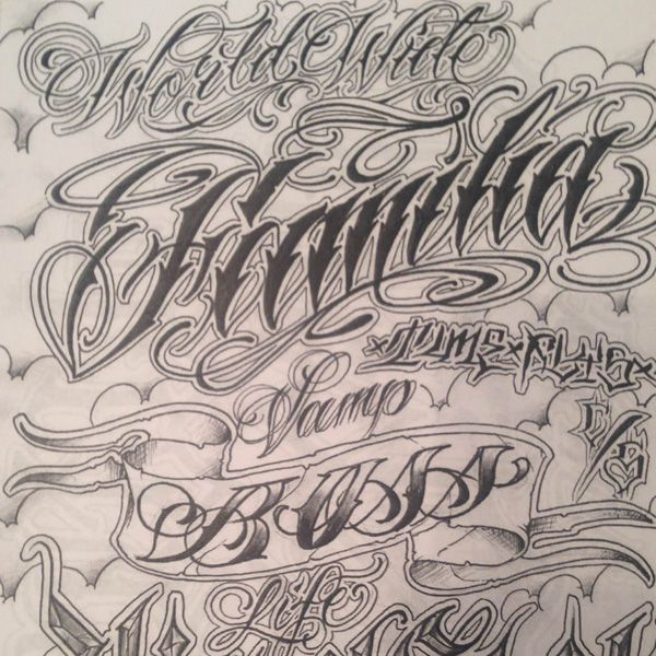 Pin by Rod Chond on Tats | Tattoo lettering styles ...