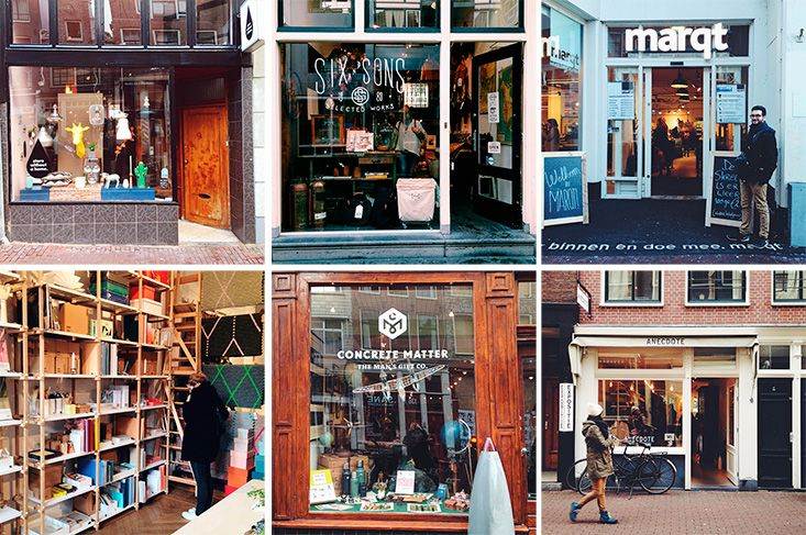 Food and Boutiques in Amsterdam - Mango & Salt