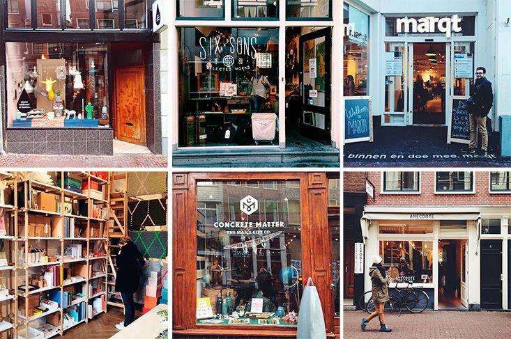 Les bonnes adresses de shopping à Amsterdam