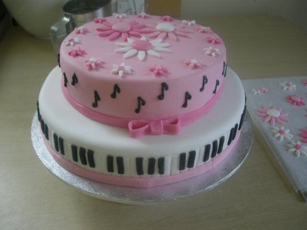 Cute Music Cake Cakes And Cake Decorations Cake Music Cakes
