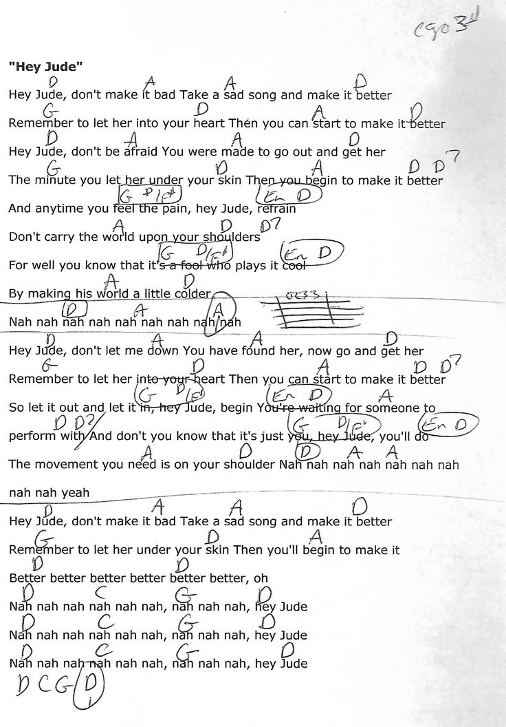 Hey Jude Chords Beatles Guitar Chords V3 4877463 Ginkgobilobahelpfo