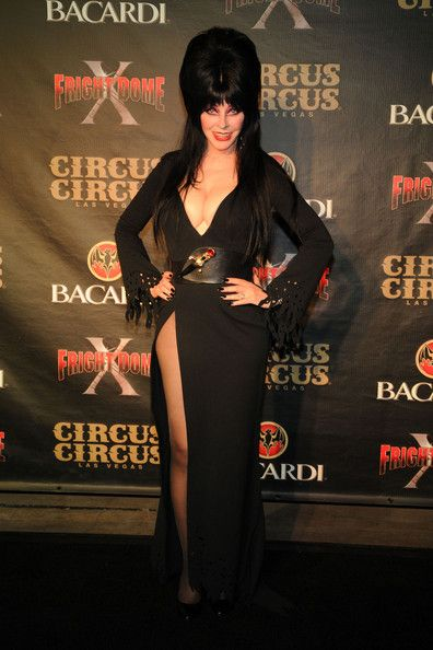 Elvira - Elvira and Linda Blair at Fright Dome