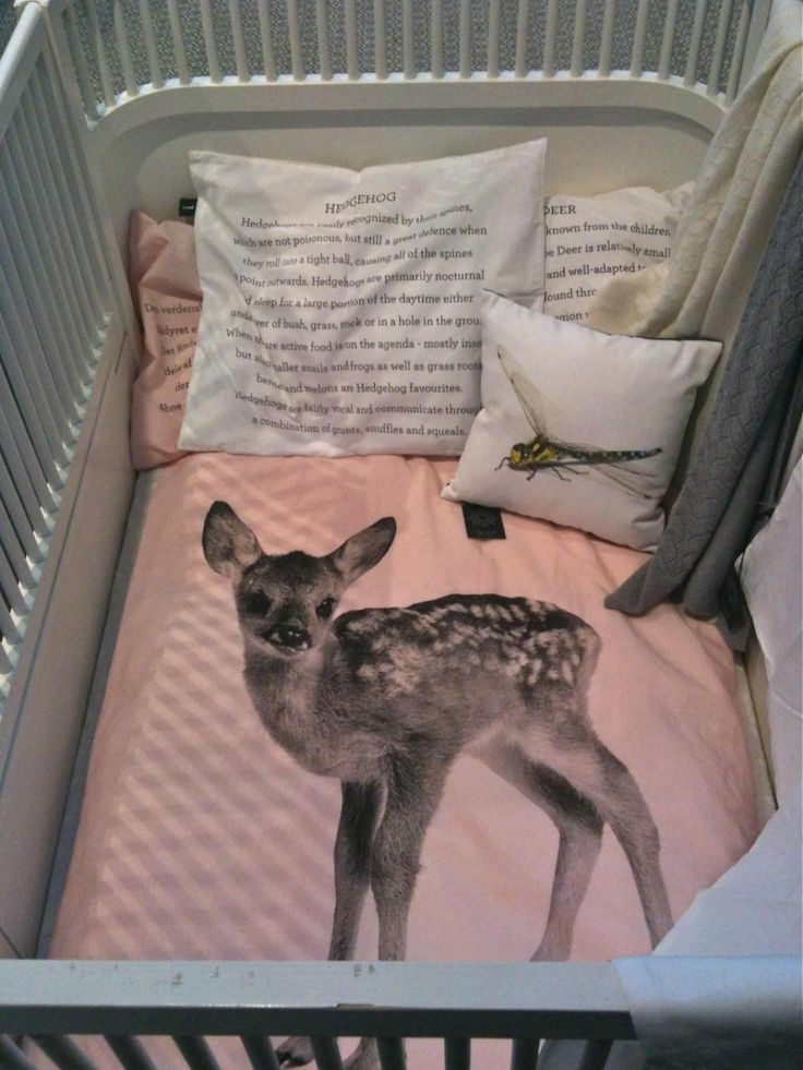 Cutest baby bedding from By Nord Copenhagen