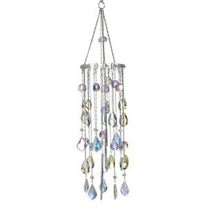 pictures of crystals windchimes   Kirks Folly Crystals of the Fairy Realm Chandelier Windchime