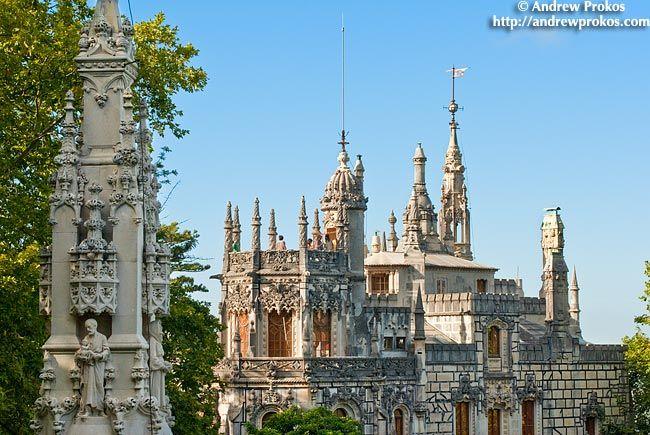 Photo: View of the Quinta da Regaleira Palace - Framed Fine Art Print / Photograph - Photos of Portugal