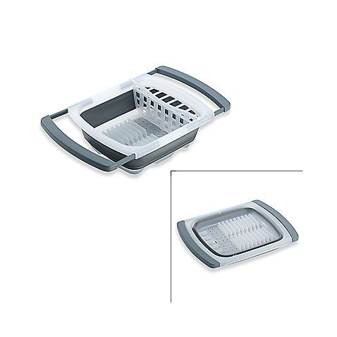 Collapsible Over The Sink Dish Drainer $24.99 At BBB. Going To Get This  Tomorrow!