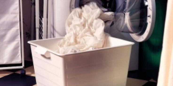 Anche la lavatrice deve essere disinfettata, per un bucato pulito e sicuro a contatto con la pelle