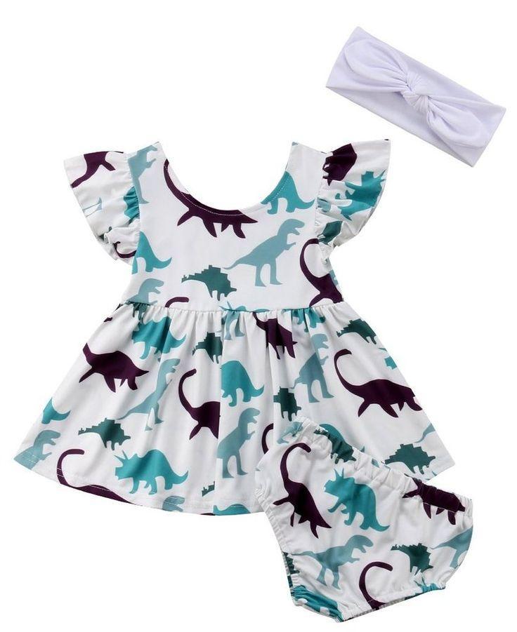 dinosaur dress toddler girl