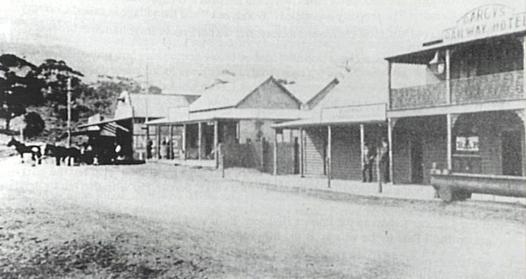 Shops, Offices and Stores in the mining town of Bulli, NSW