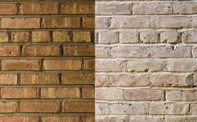 whitewashed internal brickwork -  an option for our wall