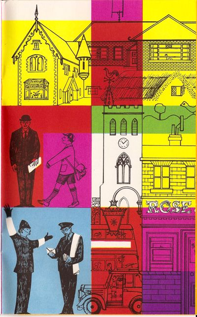 Barbara Jones: Brochure for the British Pavilion at the 1958 Brussels Expo