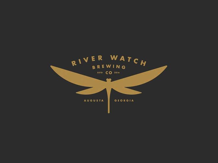 Dragonfly Logo by Jason Craig - River Watch Brewery ...