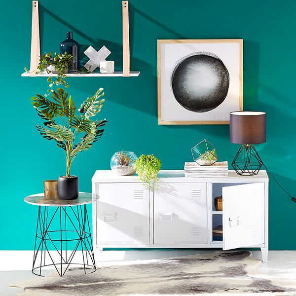 Love this emerald green element of this Kmart Australia Style