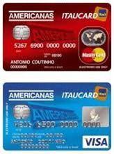 Cartão Americanas Itaucard
