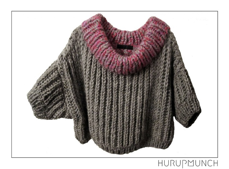 100% pure new wool. Hand knitted top 3/4 sleeves.  Dkk: 899,-