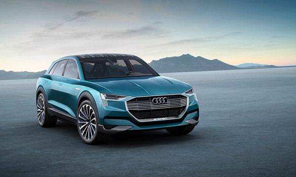 Audi E-Tron Quattro Electric SUV