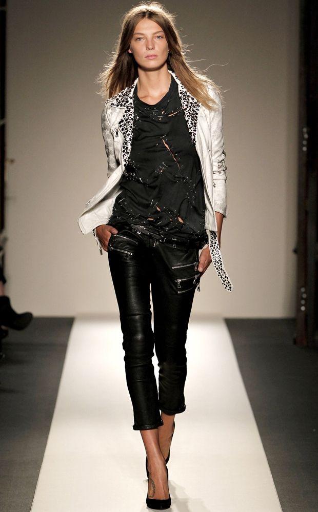 Balmain White studded leather motorcycle jacket $7544 http://www.neimanmarcus.com/p/Balmain-Stars-and-Stripes-Leather-Jacket-Premier-Designer/prod144660027/?ci_src=14110944&ci_sku=prod144660027skuMULTICOLOR