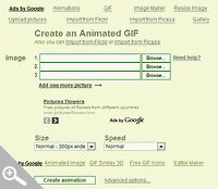 how to create animated GIFs (as seen on crochet attic)