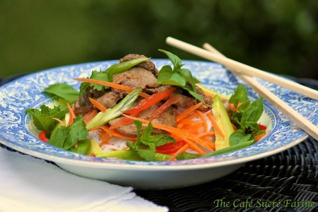 ... and White Bean Salad | Sriracha Sauce, Thai Basil and Noodle Salads