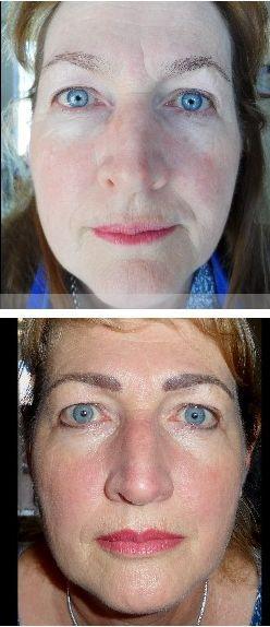 Eyebrows, eyeliner with bottom eyeshadow effect & full lips. Vanderbijlpark - Marié Holtzhausen 083 692 2207
