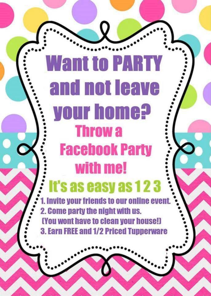 Free Printable Tupperware Party Invitations Best Custom