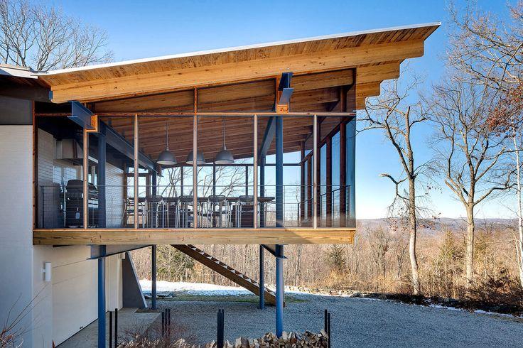 Glasutbyggnad uteplats pinterest design och inspiration for Modern house 48