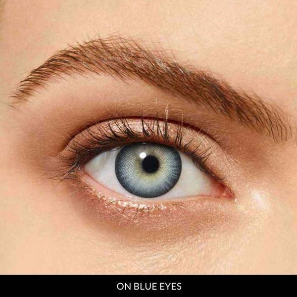 Fishtail Prescription Blue 12 Month Contact Lenses