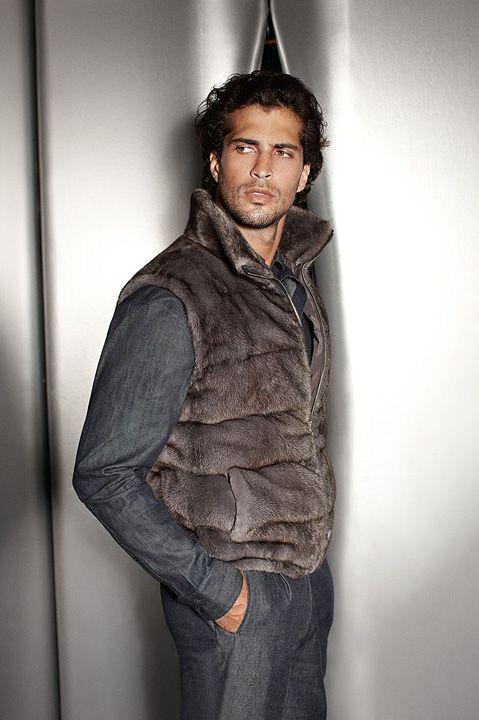 57 Best Fashion For Men Fur Images On Pinterest