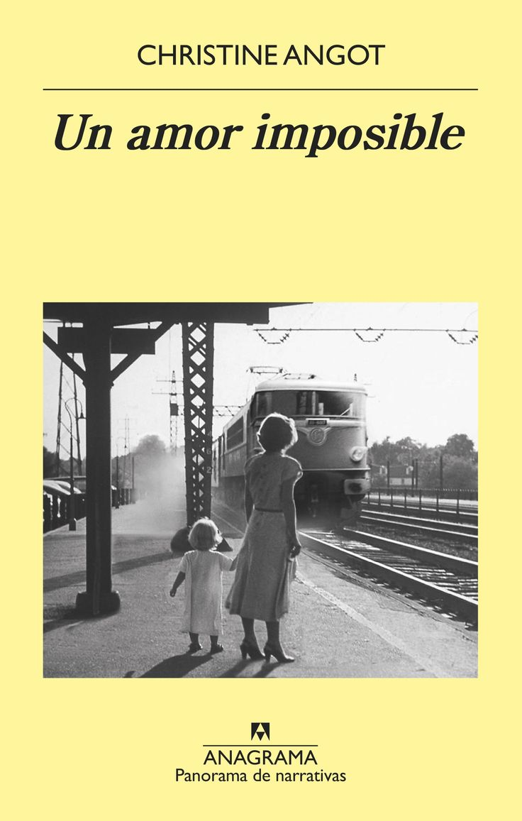 Un amor imposible / Christine Angot https://cataleg.ub.edu/record=b2220077~S1*cat En Un amor imposible se entrecruzan tres historias, tres vidas, tres personajes movidos por pasiones destructoras en lo que es, por encima de todo, el retrato de una madre.