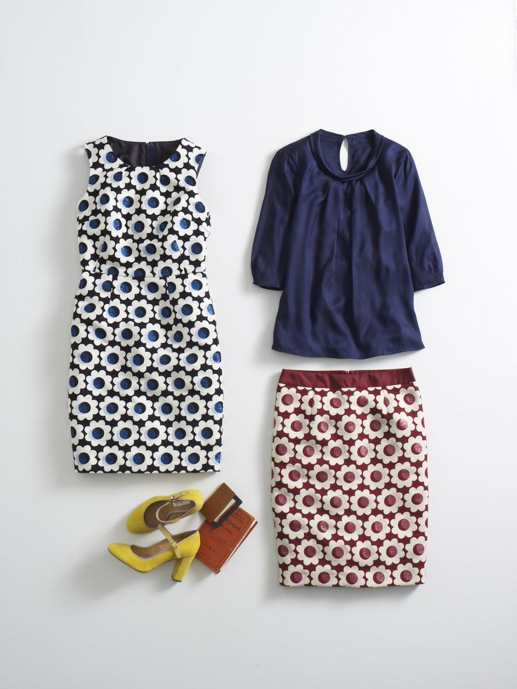 Sensationally sixties. Shop with 15% off for 24 hours with code LDN1 (UK) or LDN2 (US) #Boden #AW14