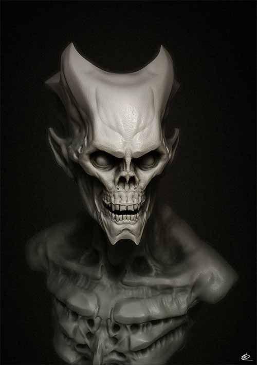 30 Diabolic Demon and Devil Artwork Illustrations