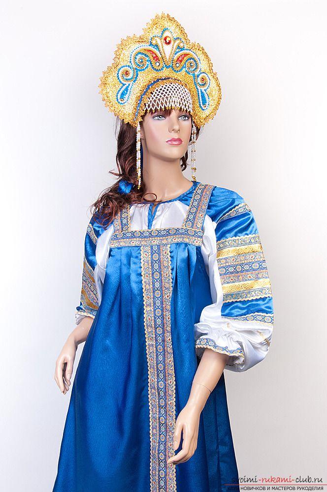 Выкройки русского народного сарафана помогут вам создать образ коренной жительницы России прошлого века 20 фотографий