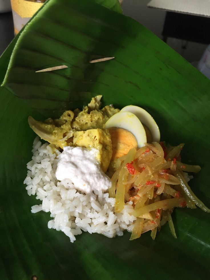Homemade Nasi Liwet Solo all made from scratch