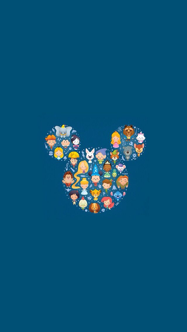 Disney wallpaper iPhone Wallpapers Pinterest